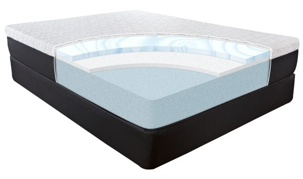 F105 inside cutout view of mattress