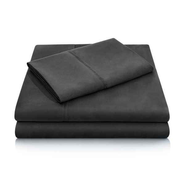 Black Brushed Microfiber Sheets