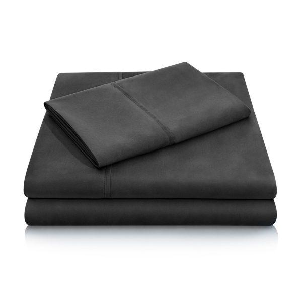 Black Brushed Microfiber Sheets