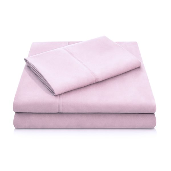 Blush Brushed Microfiber Sheets