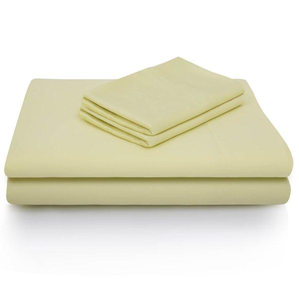 Citron Bamboo Sheet set