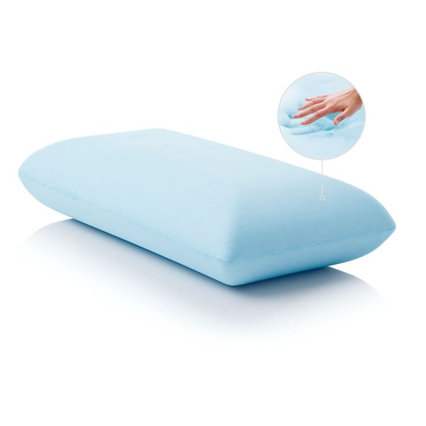 Gel Dough Midloft Pillow hand impression