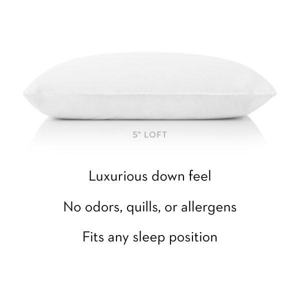 Gelled Microfiber Pillow Description