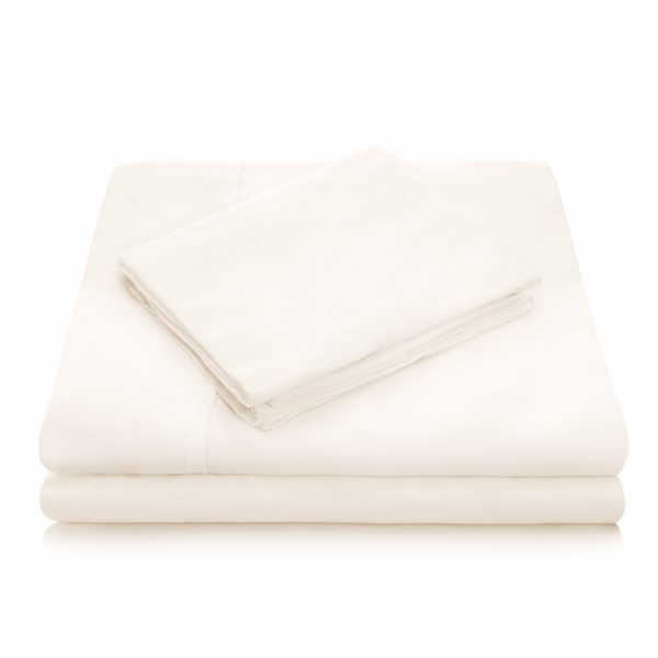 Ivory Tencel Sheet set