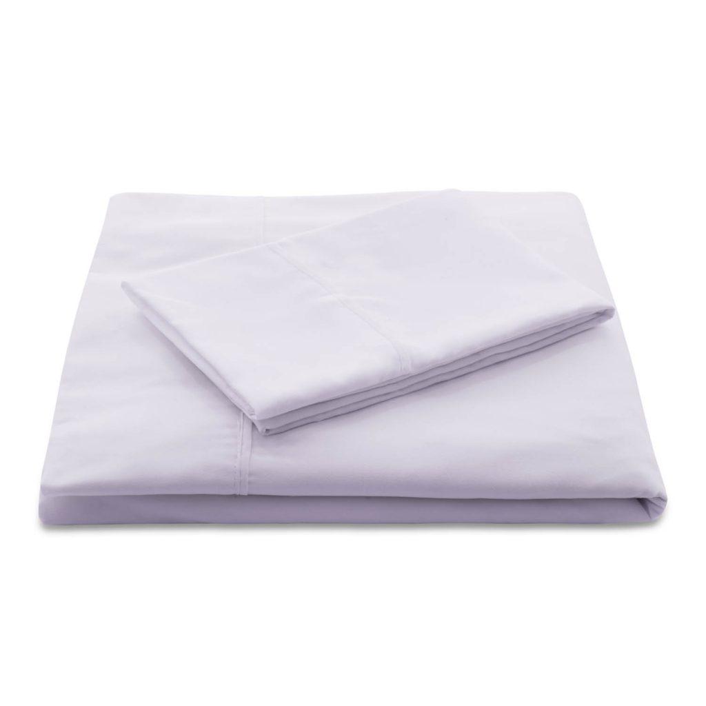 Lilac Brushed Microfiber Sheets