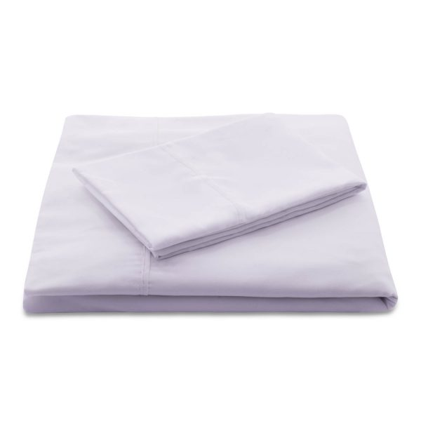 Lilac Brushed Microfiber Sheets