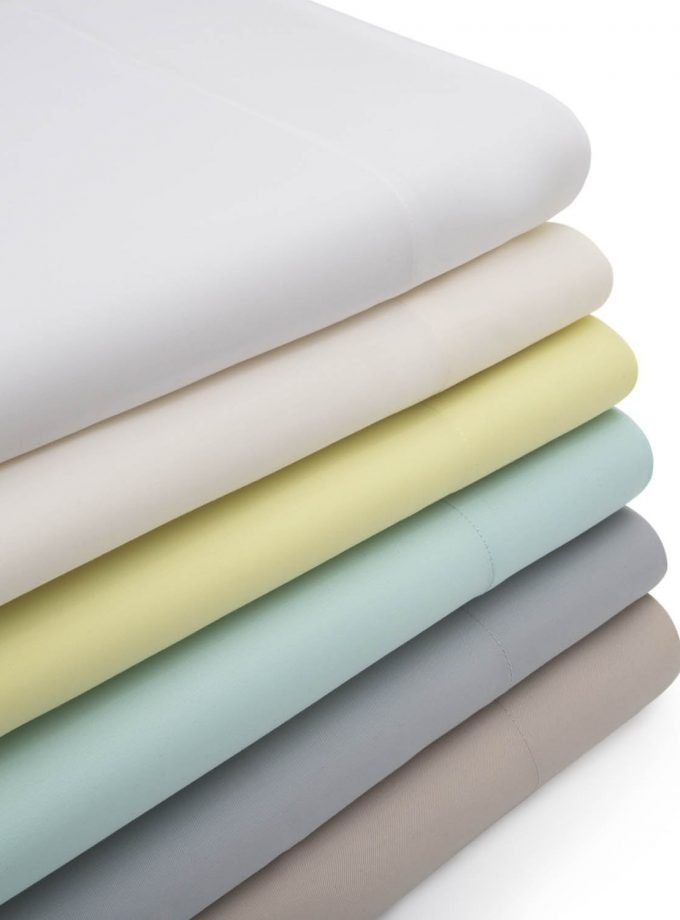 Stack of Bamboo Sheets with colors