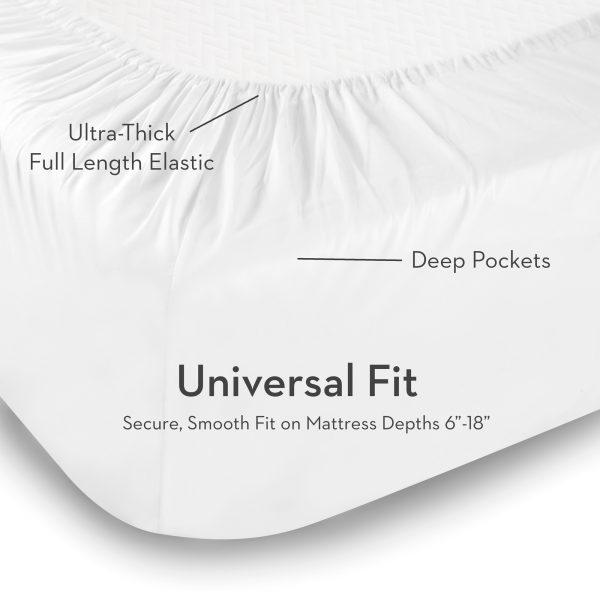 Universal Fit Brushed Microfiber Sheets