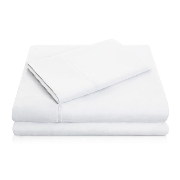 White Brushed Microfiber Sheets
