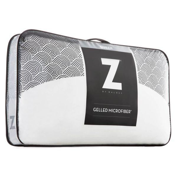 Gelled Microfiber Pillow package