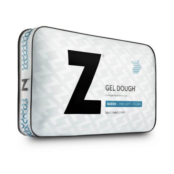Gel Dough Midloft Pillow Package