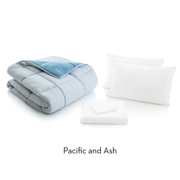 Pacific/Ash Reversible Bed in a bag description