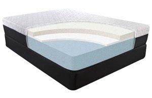 Tombstone Plush mattress cutout